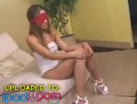 Inocent and Blindfolded Simone