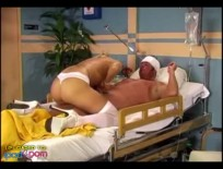 Nurse Sammie Rhodes,straight,ipad,high,