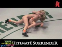 Vendetta and Kira fucking wrestling