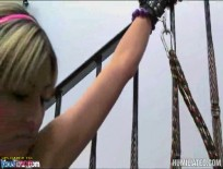 Teen Lexi Diamond Tied Up