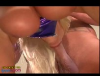 Julian ass fucks and cums on a hot blonde