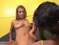 Rita Faltoyano Riding A Lucky Dude