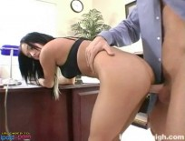 Teen Stephanie Cane gets rammed by the dean