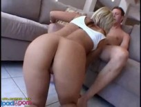 Female Getting Pounded By These 2 Friends