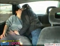 Russian Couple Public Car Sex