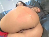 Eva Angelina takes a huge cock in the assAlayah Sashu - Five star oiled up ebony trunk gets slammed