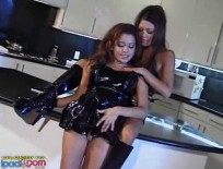 Evening Kinky WhoresAlayah Sashu - Five star oiled up ebony trunk gets slammed