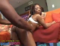 Ebony wants it doggystyleAlayah Sashu - Five star oiled up ebony trunk gets slammed