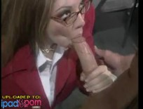 Big tit brunette gets banged on her desk,ipad2,free