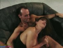 British MILF Nici Stirling fucked on sofa