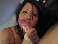 Brunette slut anal play
