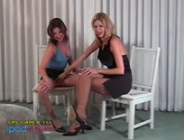 Celeste and Friend in Pantyhose