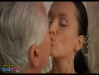 Cute Brunette Fucked by old Man