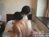 Cute asian babe fucked by 2 horny guys