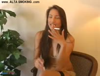 Celeste Star smoking and playing
