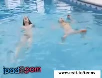 Beautiful Babes Around Swimming Pool
