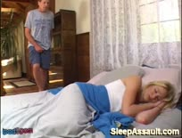 Blonde Babe Sleeping Is Fucked