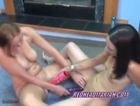 Lesbian Pentrate Dildo To Each Other