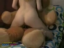 Cutie Fucks Teddy Bear