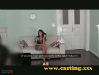 Claudia Cum Covered Casting