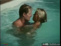 Busty Blonde Ass Waxed Under Water