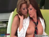 Amazing Babes Cindy  And Sandra pussy play