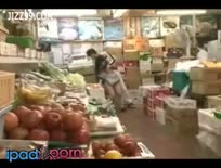 Cute Vegetables Shop Waitress Fucked By Geek