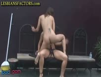 Strapon Fun For Naughty Lesbians