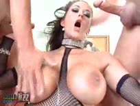 Busty Carmella Bing Sucks Multiple Dicks
