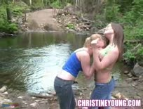 Busty Christy and Christine Young,Part 2
