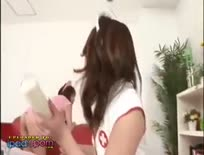 Japanese enema nurses CRAZY,Asian,ipad mini,tube,free,