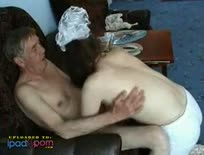 Grandpa fucking young maid