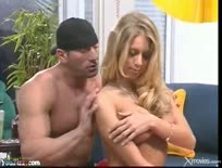Horny housewife Katie Morgan fucks dude