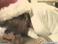 Christmas Blowjob