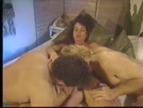 Classic BiSexual scene where the woman goes anal