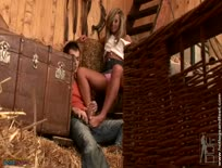 Carmens Hot Country Foot Job