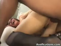 Busty slut gets her asshole drilled - Anal sex video