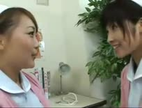 Hot Asian Nurses Kissing 2,Asian