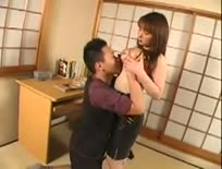 Busty Red Head Japanese Girl Seduces Student,Asian