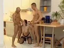 German Mature 3some