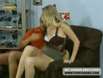 Hot Blonde German Girl Gets Anal Hard