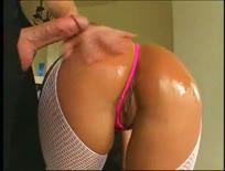 Hot blonde Jeanie Rivers hard fucked in the ass