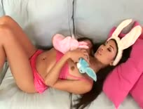 hot little bunny Danika ,Asian