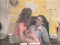 80s teacher fucks student - Hardcore sex video
