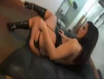 Dirty European slut getting some DP action,ipad,tablet,