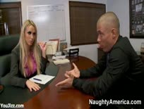 Beautiful Bossy Office Bitch Nikki Benz - Part 1,ipad,tube,free,