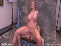Busty MILF Sara Jay Sucks and Fucks,ipad,tube,free,