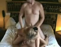 Chesty milf fucked by two dicks,ipad,tablet,