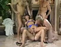 Busty MILF Takes Part In Orgy Blindfolded - KeezMovies.com,ipad,tube,free,