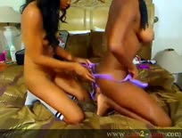 Cam; Gorgeous latina lezs pump strap-on into juicy smoo,ipad,tube,free,
